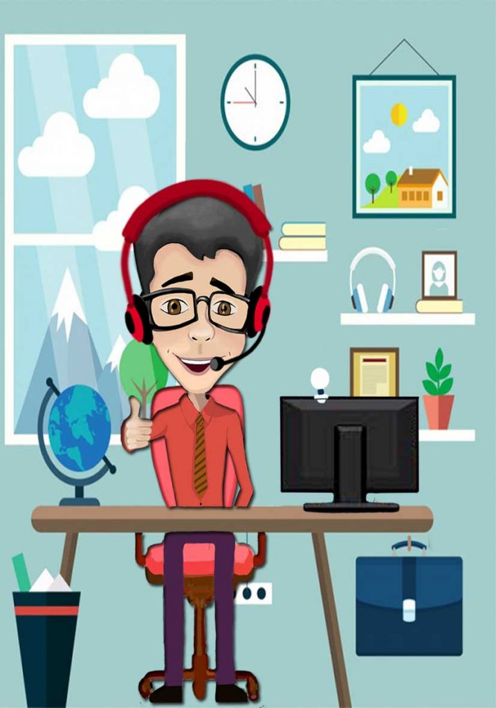 online 2 717x1024 - کلاس های آنلاین (مجازی)