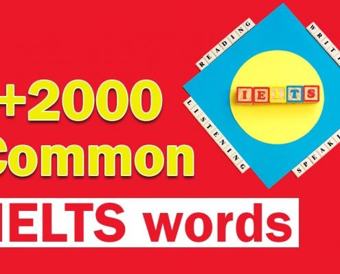 لغات پرتکرار آیلتس